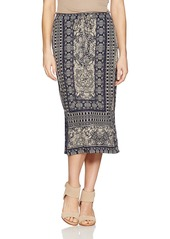 Lucky Brand Women's Window Tile Skirt