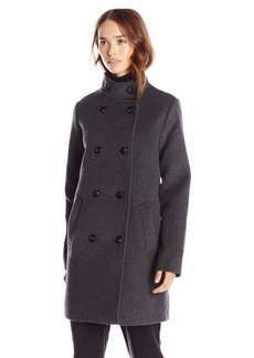 Lucky Brand Women's Wool Peacoat