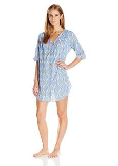 Lucky Brand Women's Woven Sleepshirt
