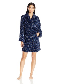 Lucky Brand Women's Wrap Me up Plush Robe