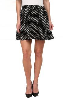 Lucky Brand Woodstamp Flirty Skirt