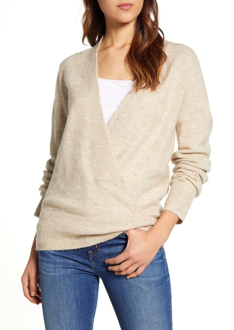 Lucky Brand Wrap Sweater