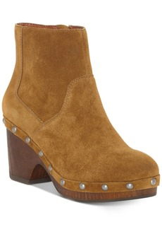Lucky Brand Yasamin Studded Booties Women's Shoes