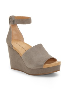 Lucky Brand Yemisa Wedge Ankle Strap Sandal (Women)