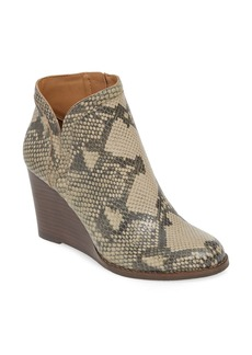 Lucky Brand Yimina Wedge Bootie (Women)