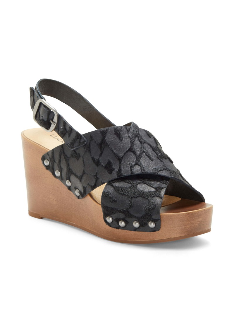 Lucky Brand Zelka Platform Wedge Sandal (Women)