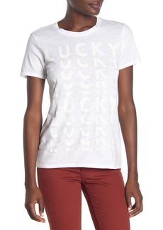 Lucky Brand Lucky Short Sleeve T-Shirt