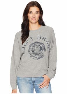 Lucky Brand Lucky Varsity Pullover Sweatshirt