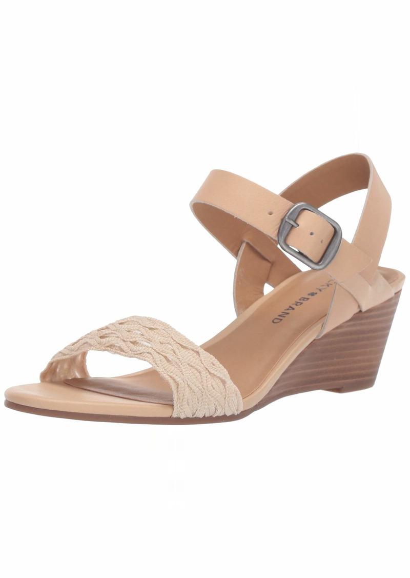 Lucky Brand Lucky Women's JALIENA Wedge Sandal   M US