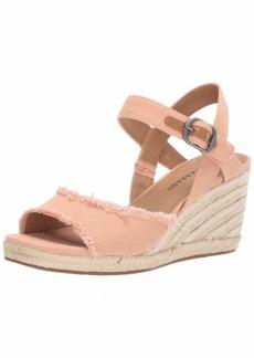 Lucky Brand Lucky Women's MINDRA Espadrille Wedge Sandal   M US