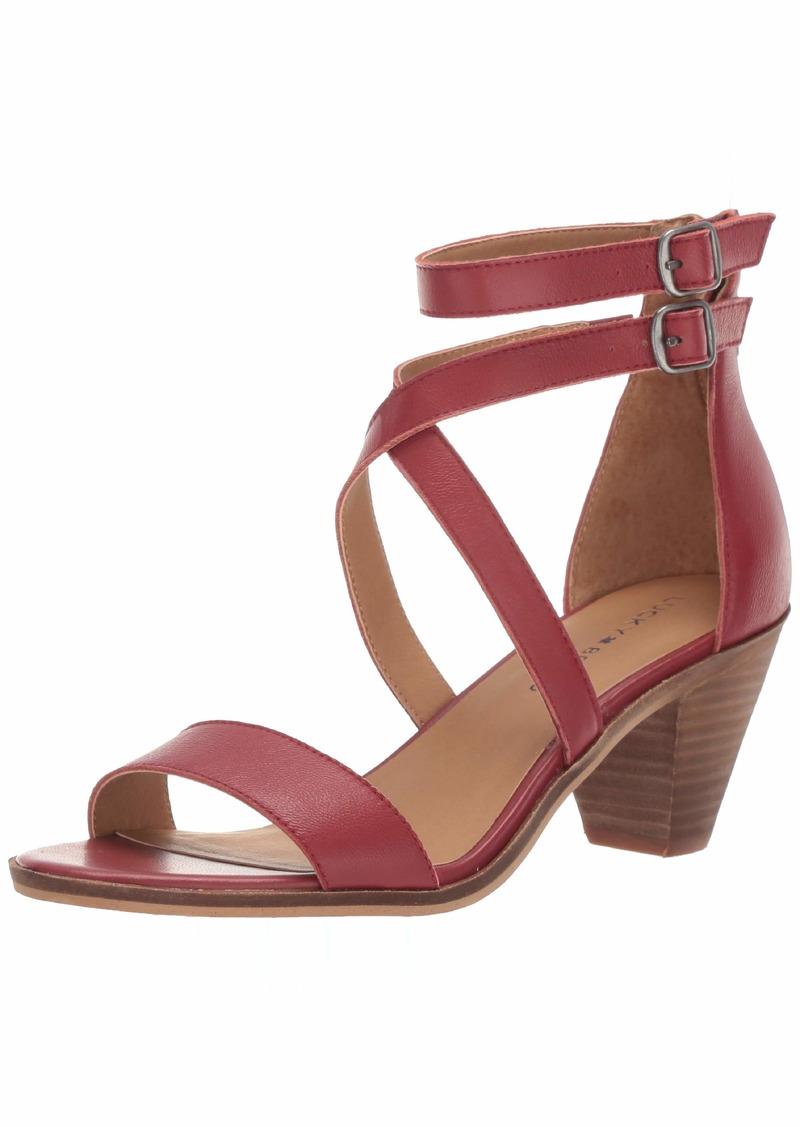 Lucky Brand Lucky Women's RESSIA HIGH Heel Heeled Sandal   M US