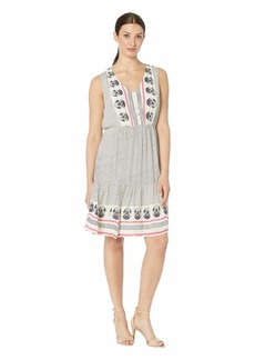 Lucky Brand Luna Border Print Dress