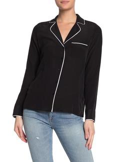 Lucky Brand Maggie Silk Pajama Top