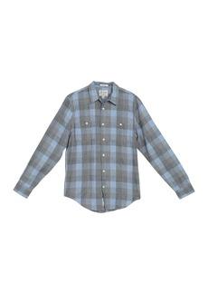 Lucky Brand Mason Workwear Plaid Classic Fit Shirt