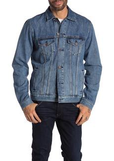 Lucky Brand Medium Blue Trucker Jacket