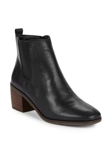 Lucky Brand Mekinly Leather Booties