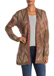 Lucky Brand Metallic Stitch Lux Cardigan