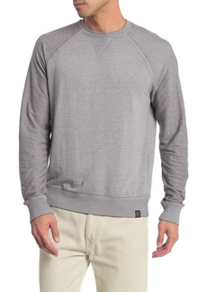 Lucky Brand Micro Terry Burnout Crew Neck T-Shirt