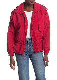 Lucky Brand Missy Hooded Windbreaker Jacket