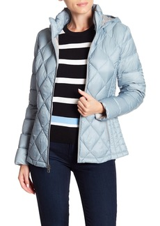 Lucky Brand Missy Quilted Hooded Zip Jacket
