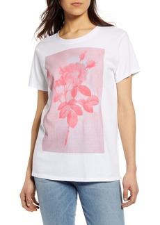 Lucky Brand Monochrome Rose T-Shirt