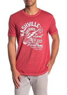 Lucky Brand Nashville Guitars Short Sleeve T-Shirt