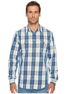 Lucky Brand No Yoke Western Shirt