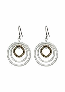 Lucky Brand Orbital Trio Hoop Earrings