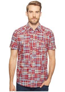 Lucky Brand Patchwork San Berdu Western Shirt