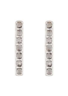 Lucky Brand Pave Bar Stud Earrings