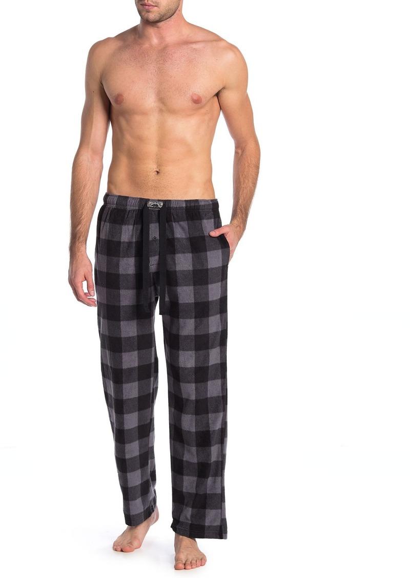 Lucky Brand Plaid Fleece Sleep Pants - Pack of 2
