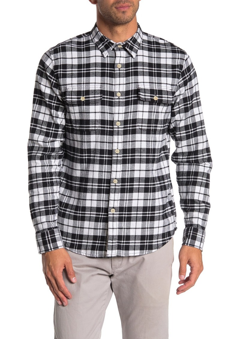 Lucky Brand Plaid Long Sleeve Shirt