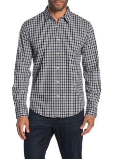 Lucky Brand Plaid Long Sleeve Stretch Fit Shirt