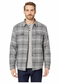 Lucky Brand Plaid Sherpa Shirt Jacket