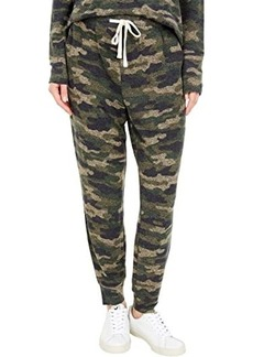 Lucky Brand Printed Brushed Hacci Joggers