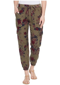 Lucky Brand Printed Cargo Pants