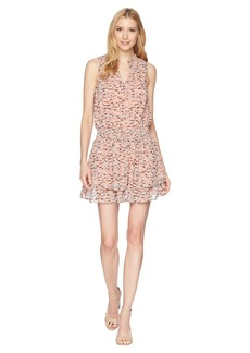 Lucky Brand Printed Drop Waist Dress