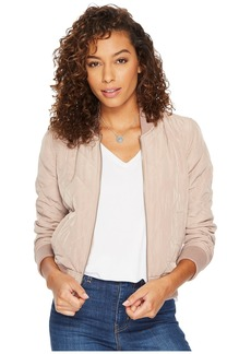 Lucky Brand Quilted Bomber Jacket