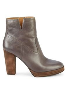 Lucky Brand Quintei Leather Booties