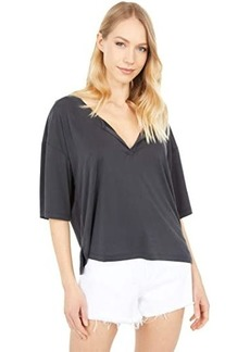 Lucky Brand Relaxed Short Sleeve Knit