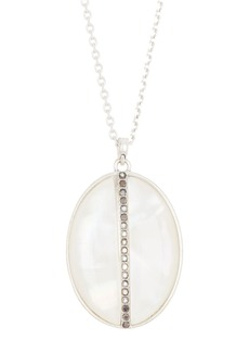 Lucky Brand Reversible Stone Pendant Necklace