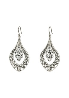 Lucky Brand Sahara Dust Filigree Oblong Earring