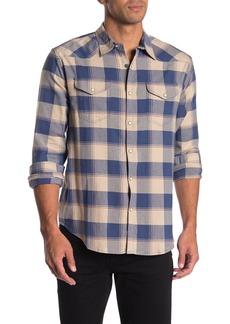 Lucky Brand Santa Fe Western Regular Fit Long Sleeve  Shirt