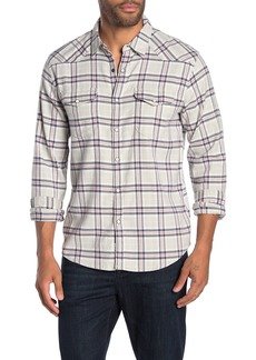 Lucky Brand Santa Fe Western Long Sleeve Stretch Fit Shirt