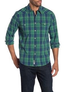 Lucky Brand Santa Fe Western Long Sleeve Stretch Fit Shirt