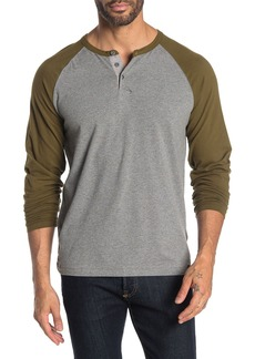 Lucky Brand Saturday Stetch Knit Henley Shirt