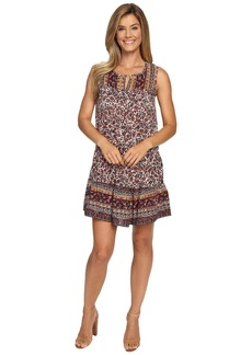 Lucky Brand Scarf Printed Dress