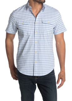 Lucky Brand Short Sleeve 2 Pocket Workwear Shirt