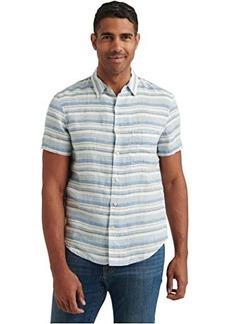 Lucky Brand Short Sleeve San Gabriel One-Pocket Shirt