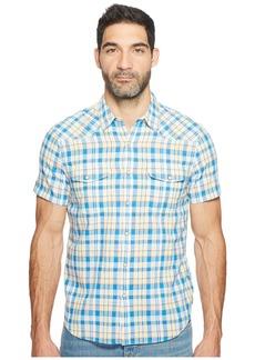 Lucky Brand Short Sleeve Western Shirt